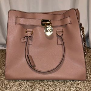 Michael Kors Large Hamilton Satchel